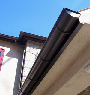 Riteway Seamless Gutters K Style And Half Round Copper
